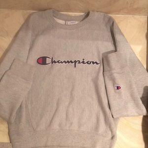 Grey Champion Hoodie, Reverse Weave